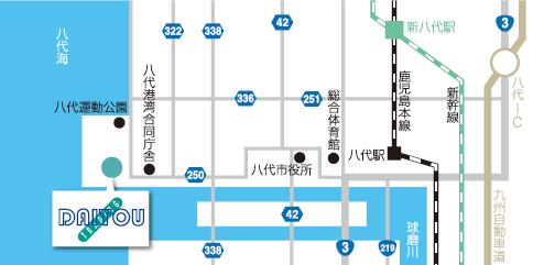 八代リサイクルセンター地図